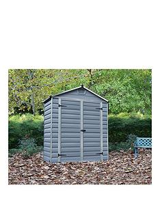 palram-6x3-ft-skylight-shed-anthracite