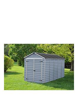 palram-6x12-ft-skylight-shed-anthracite