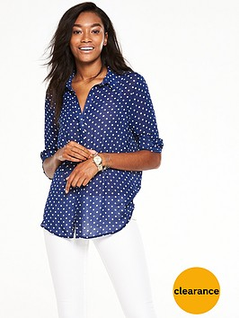 v-by-very-button-through-dipped-hem-blouse
