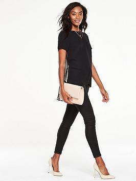 v-by-very-pleat-back-dipped-hem-top