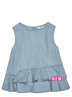 river-island-mini-girls-denim-peplumnbsptop