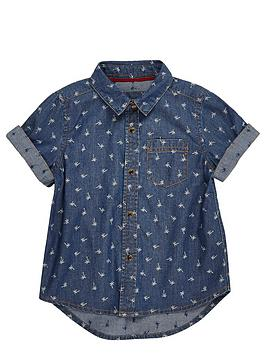 river-island-mini-boys-palm-print-denim-shirt