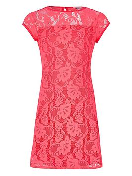 river-island-girls-coral-pink-lace-dress