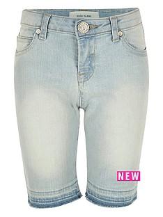 river-island-girls-skinny-denim-knee-shorts