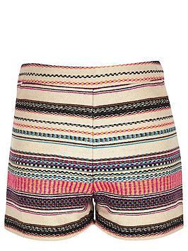river-island-girls-pink-jacquard-shorts