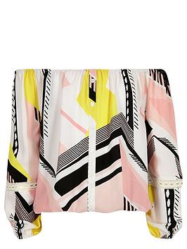 river-island-girls-geometric-print-bardotnbsptop