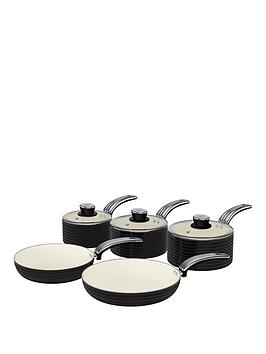 swan-retro-5-piece-pan-set-black