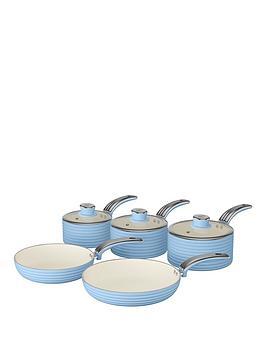 swan-retro-5-piece-pan-set-blue