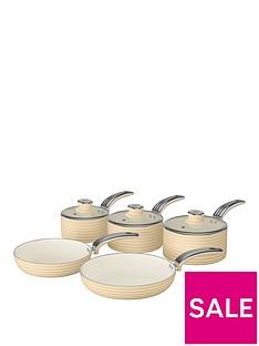swan-retro-5-piece-pan-setnbspin-cream