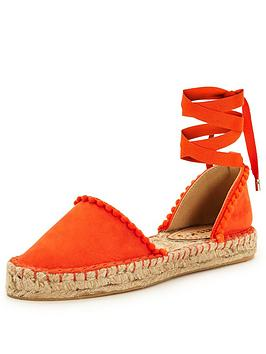 miss-kg-dizzy-two-part-espadrilles-orange