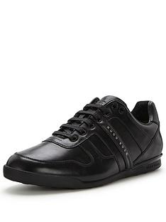 hugo-boss-green-arkansas-trainers-black