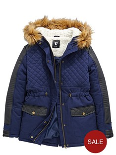 v-by-very-girls-pu-quilted-parka-coat