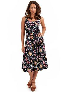 joe-browns-tropical-bird-bow-dress