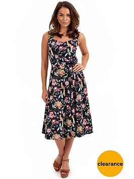 joe-browns-tropical-bird-bow-dress