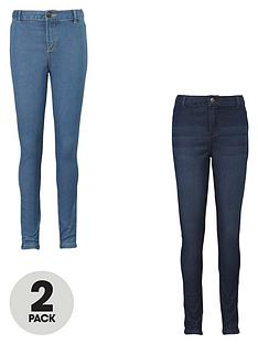 v-by-very-girls-skinny-jeans-2-pack