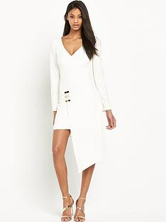 the-8th-sign-asymmetric-wrap-dress