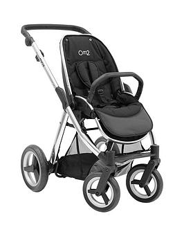 babystyle-oyster-max-pushchair-chassis-without-hood-mirror-finish