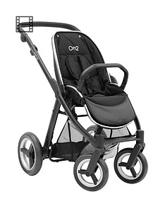 babystyle-oyster-max-pushchair-chassis-without-hood-black-satin