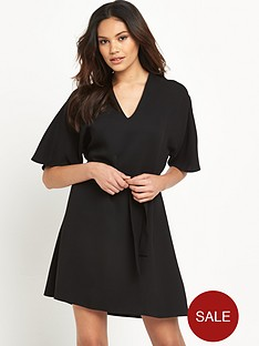river-island-kimono-sleeve-swing-dress