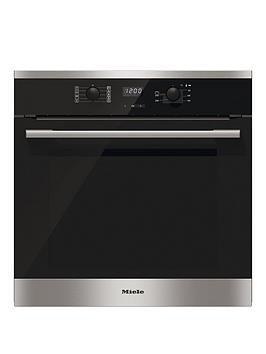 miele-h2561bnbsp56cm-built-in-single-electric-oven-with-perfectcleannbspfinish-stainless-steel