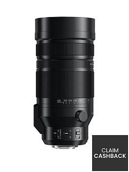 panasonic-lumix-g-lens-100-400mm-leica-dg-vario-elmar-f40-63-asph-power-oisnbsp--blackpound100-cash-back-available