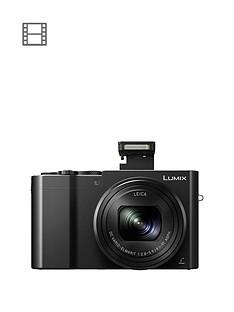 panasonic-lumixnbspdmc-tz100nbspdigital-camera-4k-ultra-hd-201mp-10xnbspoptical-zoom-wi-fi-evf-3-lcdnbsptouch-screen-black