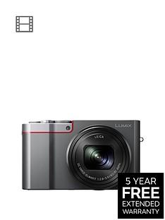 panasonic-lumixnbspdmc-tz100nbspdigital-camera-4k-ultra-hd-201-megapixel-10xnbspoptical-zoom-wifi-evf-3-inch-lcdnbsptouch-screen-silver