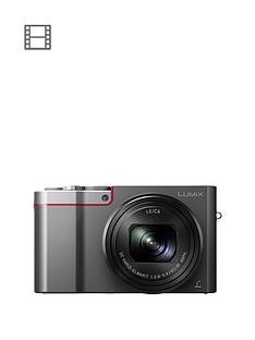 panasonic-lumixnbspdmc-tz100nbspdigital-camera-4k-ultra-hd-201mp-10xnbspoptical-zoom-wifi-evf-3-lcdnbsptouch-screen-silver