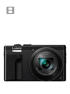 panasonic-lumix-tz80nbspsuper-zoom-digital-camera-4k-ultra-hd-181-megapixel-30xnbspoptical-zoom-wi-fi-evf-3-inchnbsplcdnbsptouch-screen-nbsp--blacknbsp