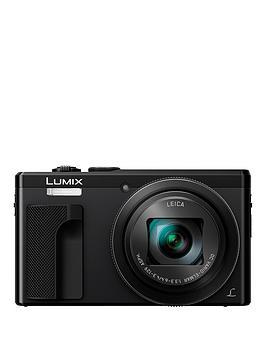 panasonic-lumix-tz80nbspsuper-zoom-digital-camera-4k-ultra-hd-181-megapixel-30xnbspoptical-zoom-wi-fi-evf-3-inchnbsplcdnbsptouch-screen-nbsp--blacknbsp