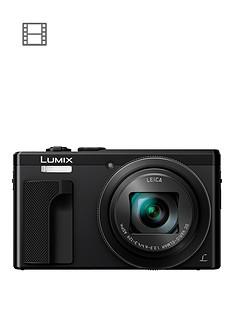 panasonic-lumix-tz80nbspsuper-zoom-digital-camera-4k-ultra-hd-181mp-30xnbspoptical-zoom-wi-fi-evf-3-lcdnbsptouch-screen-nbsp--black