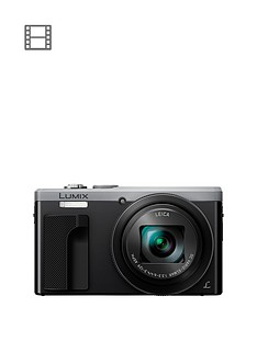 panasonic-lumix-tz80-super-zoom-digital-camera-4k-ultra-hd-181-mp-30xnbspoptical-zoom-wi-fi-evf-3-lcdnbsptouch-screen-silver