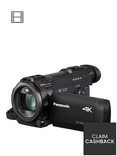 Panasonic HC-VXF990 - 4k, Leica Lens, 20x zoom, Cinema Like Effect- Black