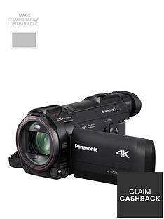 Panasonic Panasonic HC-VXF990 - 4k, Leica Lens, 20x zoom, Cinema Like Effect- Black.£50 cash back available