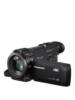 Panasonic Hc-Vxf990 – 4K, Leica Lens, 20X Zoom, Cinema Like Effect – Black.
