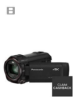 Panasonic HC-VX980 4K - - 4k, Leica Lens, 20x zoom, HDR Functions- Black