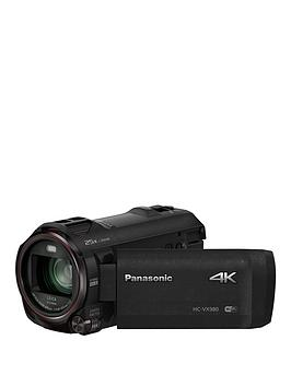 Panasonic Hc-Vx980 4K - - 4K, Leica Lens, 20X Zoom, Hdr Functions - Black.