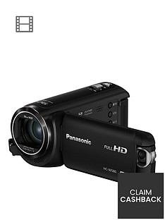 Panasonic HC-W580 - Full HD, twin Lenses, 90x zoom, HDR Functions