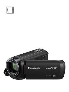 Panasonic HC-V380 - Full HD, wireless, 90x zoom