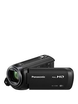 Panasonic Hc-V380Eb-K Full Hd 1080P Camcorder