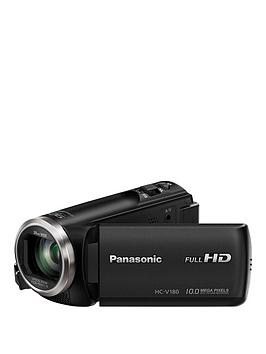 Panasonic Hc-V180Eb-K Full Hd 1080P Camcorder