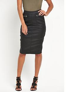 v-by-very-high-waisted-coated-skirt