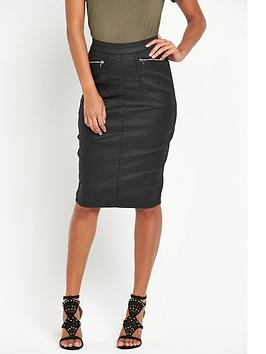 v-by-very-high-waisted-coated-skirt