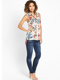 myleene-klass-high-low-printed-blouse