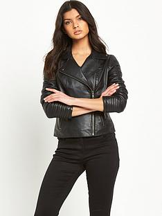 v-by-very-biker-sleeve-leather-jacket