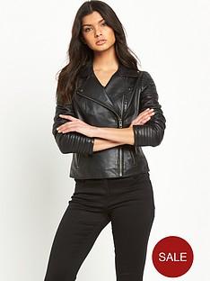 v-by-very-biker-sleeve-leather-jacket