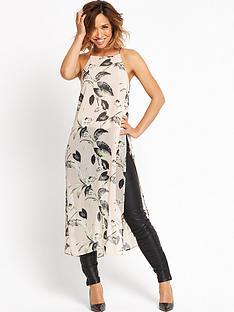 myleene-klass-high-low-sheer-blouse