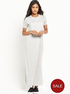 river-island-river-island-wrap-front-maxi-tee
