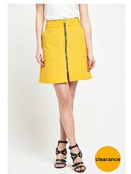 river-island-zip-through-a-line-skirt