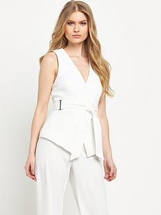 river-island-belted-sleeveless-jacket